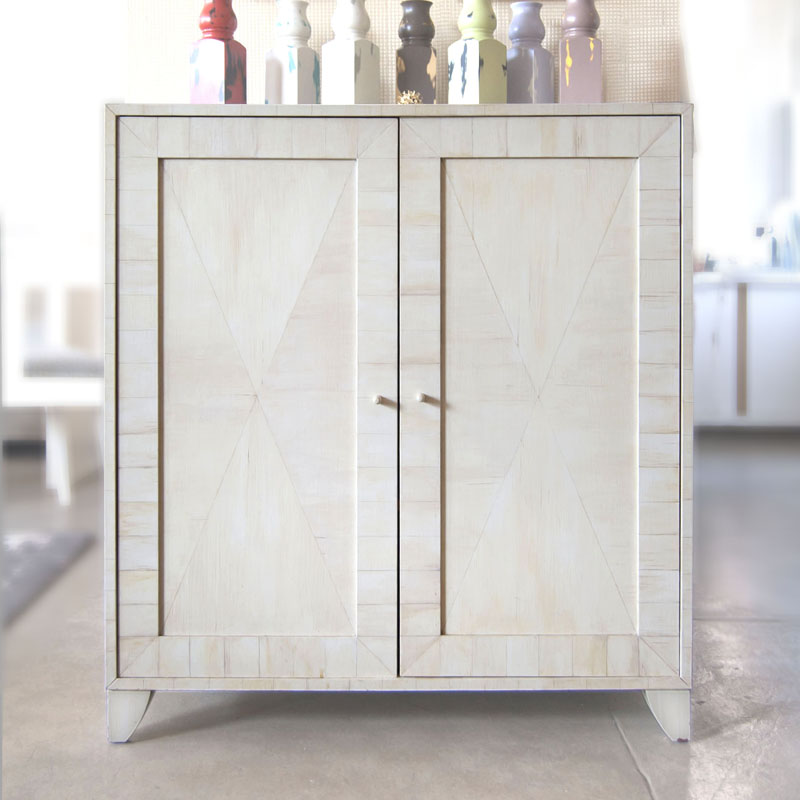 Surface Cabinet in Faux Ivory